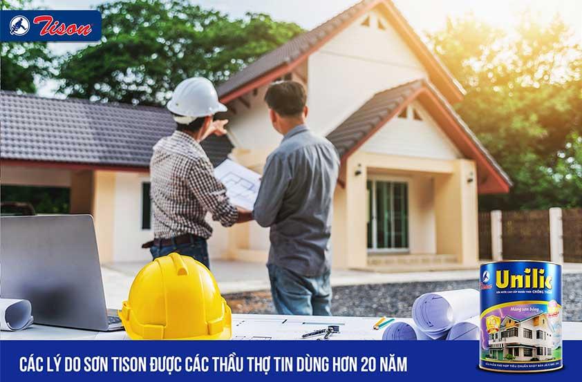 5 lý do sơn tison được tin dùng - Tisonpaint.vn