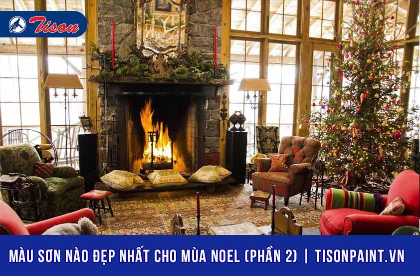 Màu sơn ngoại thất nào đẹp nhất cho mùa Noel (P2)