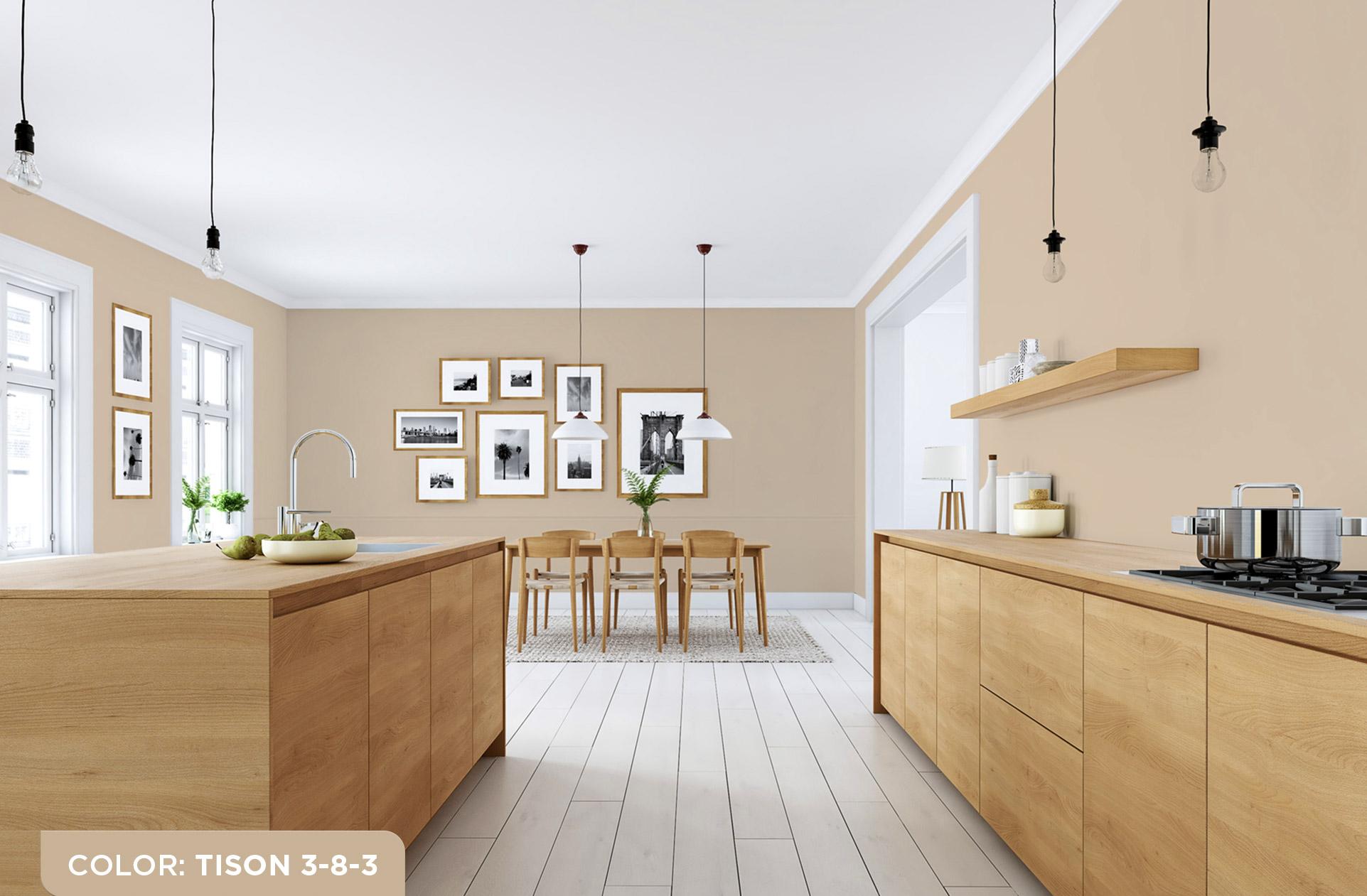 Sơn phòng bếp – chọn màu nào để hợp xu hướng