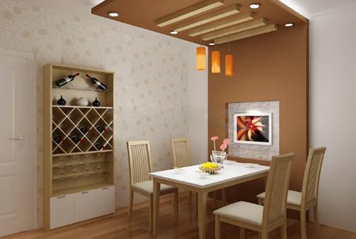 tison paint thiết kế phòng ăn