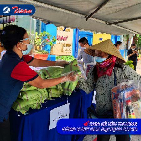 hỗ trợ dân mùa dịch covid sơn tison
