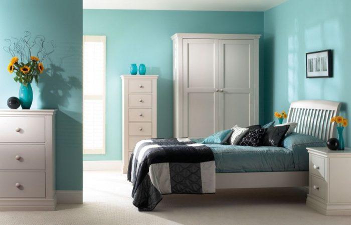 sơn nội thất phòng ngủ