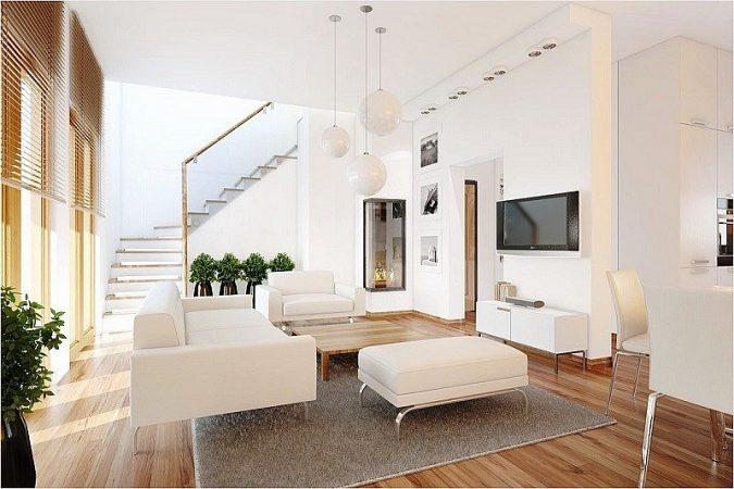 cách sơn nhà màu trắng