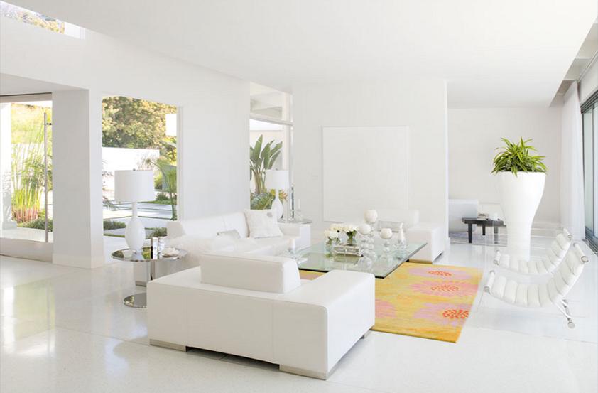 Nguyên tắc khi sơn nhà màu trắng bạn đã biết?